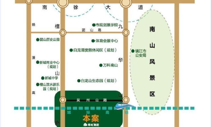 除了毗邻国家aaaa级南山风景区,未来还将在项目北广场打造一条宽300米