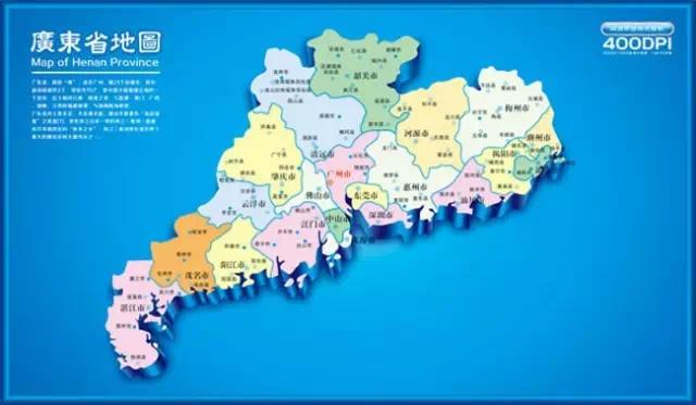 广东海丰县高清地图