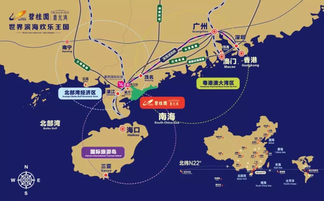 茂名详细旅游景点地图