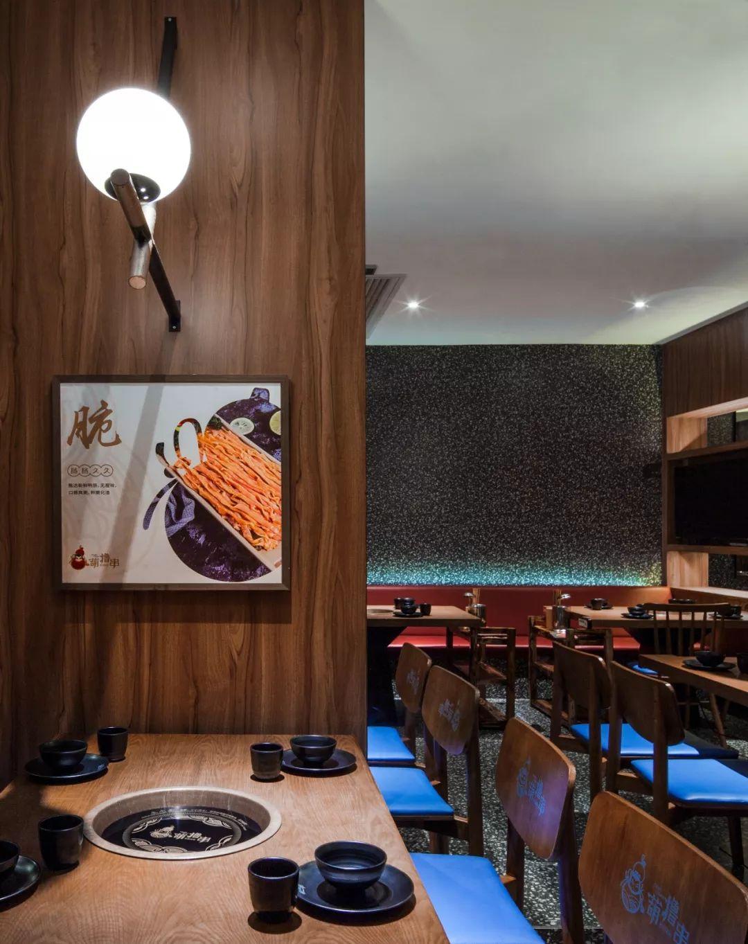 覃海华新作 | 葫撸串餐饮店:沸腾人生,热辣而自在图片