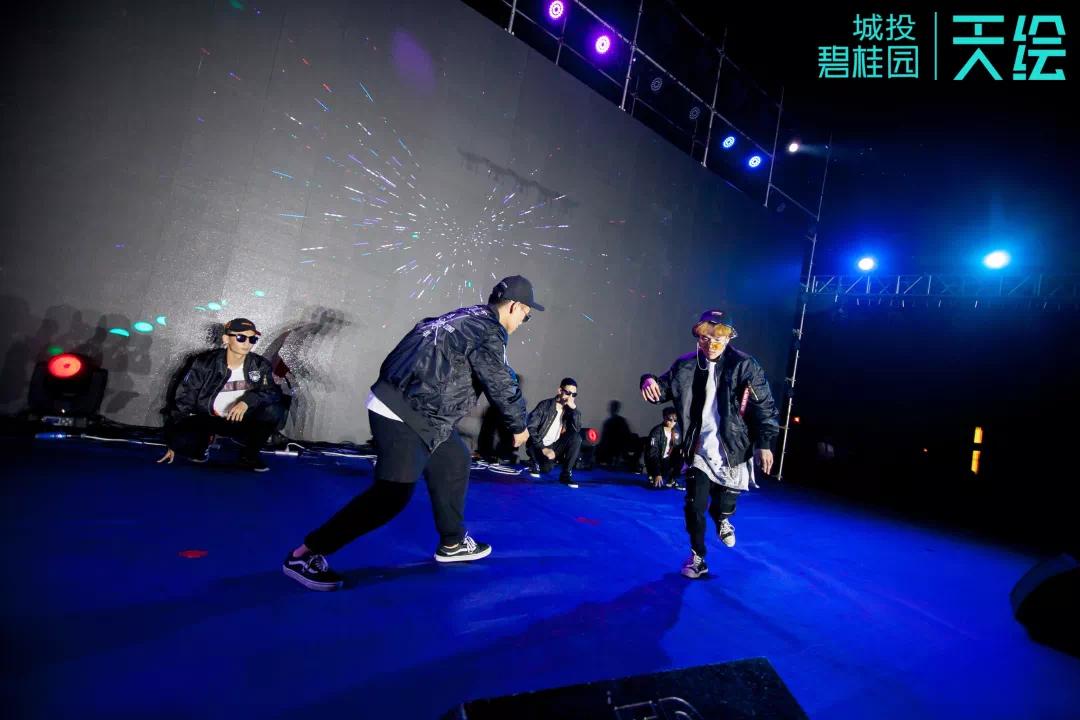 街舞表演_酷炫街舞表演