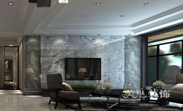 美巢保利永威西溪花园装修样板间 黑白灰轻奢时尚与文化任意切换