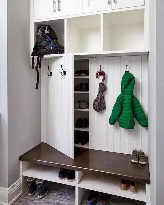 玄关鞋柜9种设计,每一款颜值都很在线!图片