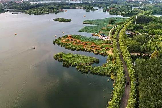 唐山南湖景区即将免费开放!快来看看吧,南湖美景