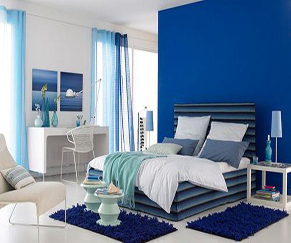 別墅簡約臥室裝修效果圖   以上就是小編為您整理的讓別墅加一點藍色