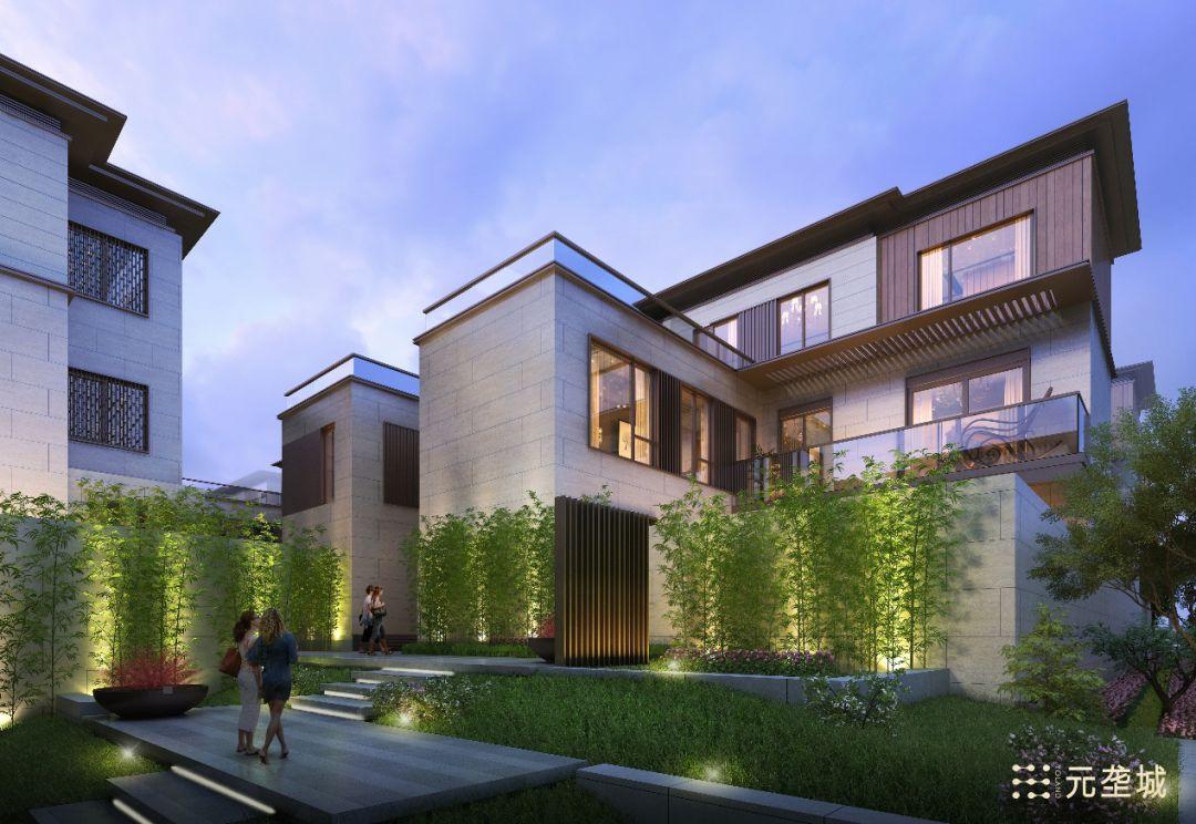 1个院子2个露台3个套房… 元垄城用「高层」面积收割「合院」图片