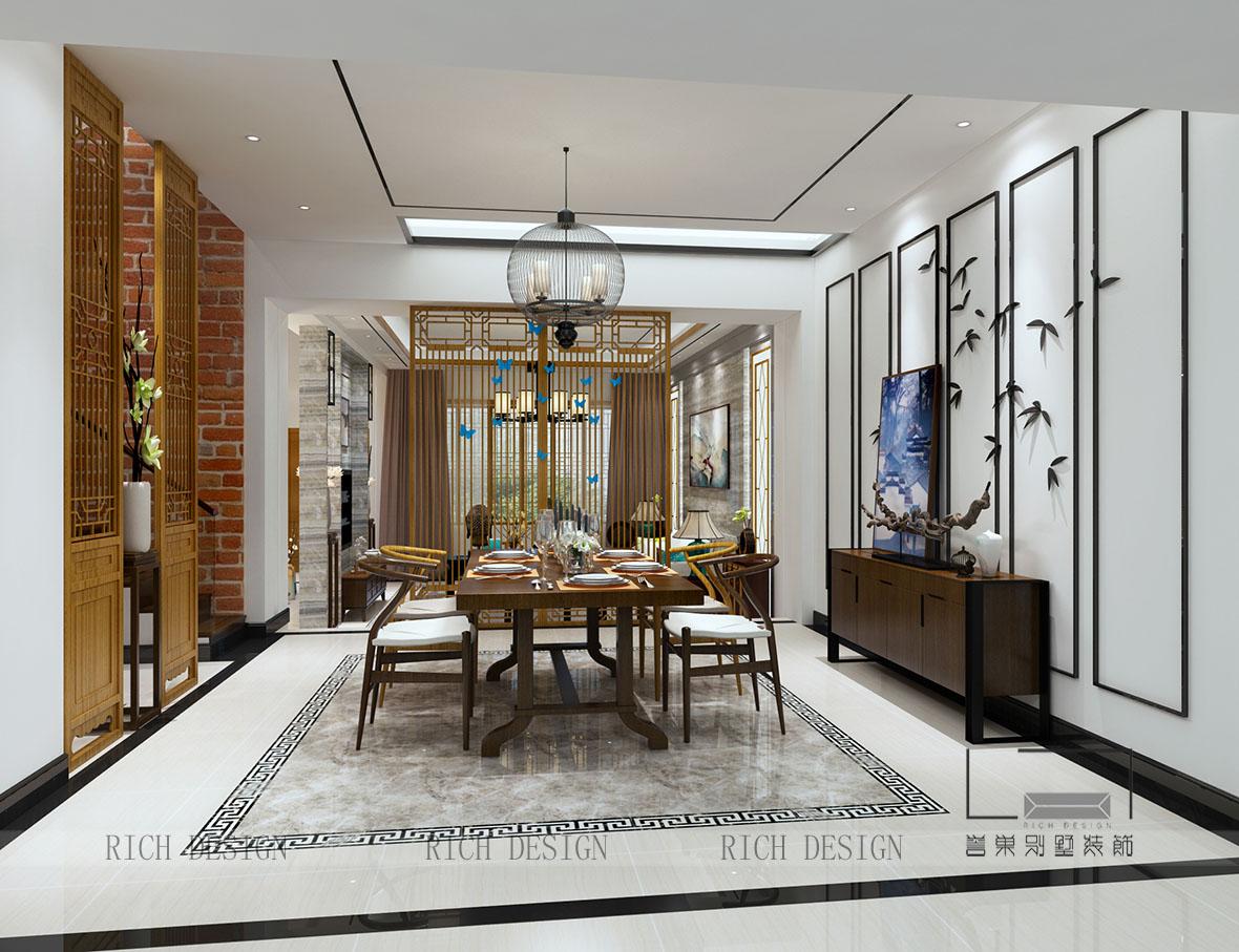 極致東方別墅裝修設計,盡顯中式禪意