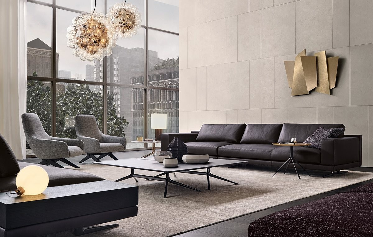 客厅三人沙发图片
