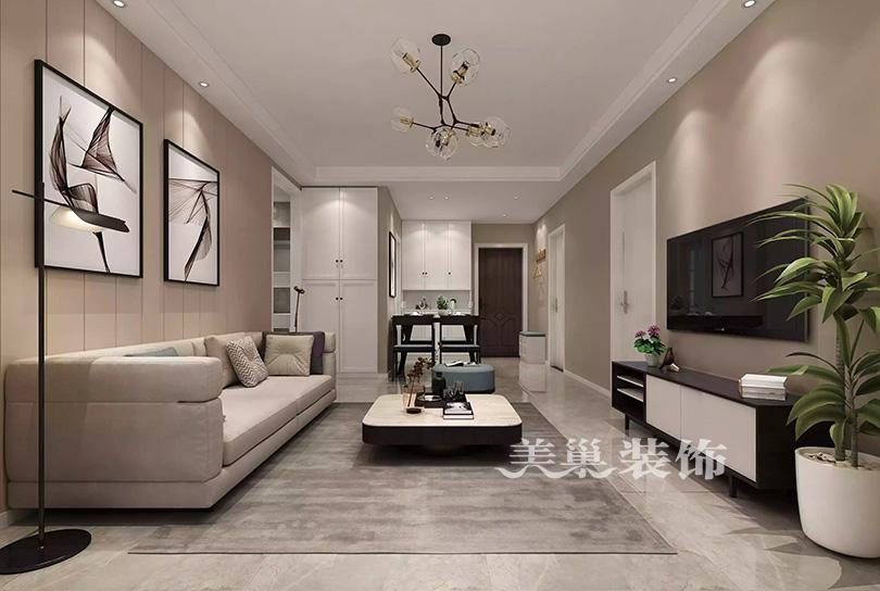 郑州碧桂园翡翠城105平装修效果图 宜家风这个范给100