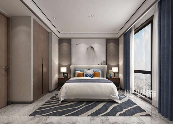 美巢蓝城玫瑰园装修效果图 现代轻奢阳台地台榻榻米到底实用不?