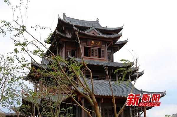 """衡阳市东洲岛景区""""五一""""试开园 郑建新宣布开园"""