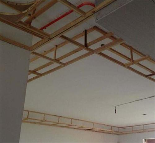 木龙骨石膏板吊顶施工注意事项