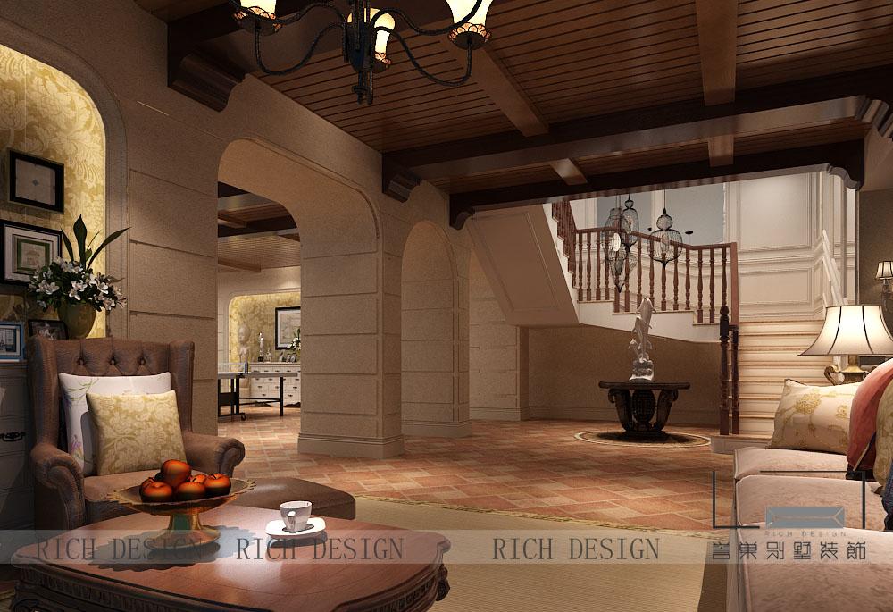 别墅地下室装修效果图   无论你的地下室是一个小房间还是整个