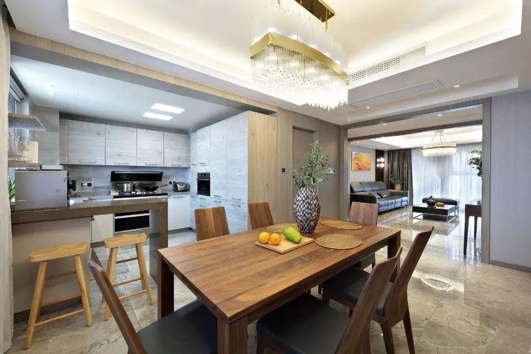 160平米現代簡約風格裝修效果圖:客廳