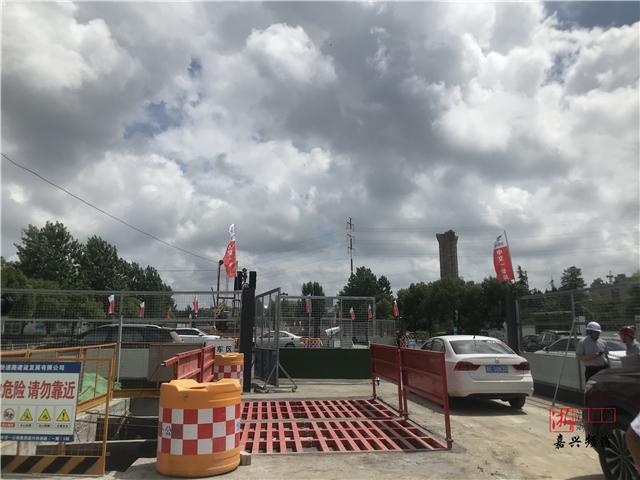 一期6个标段全线施工!记者实地探营嘉兴快速路建设现场