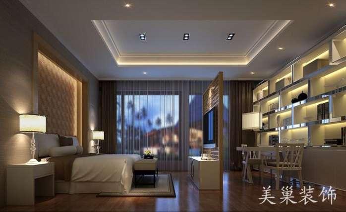 美巢联盟新城别墅装修409平内院 一楼3客厅有什么区别