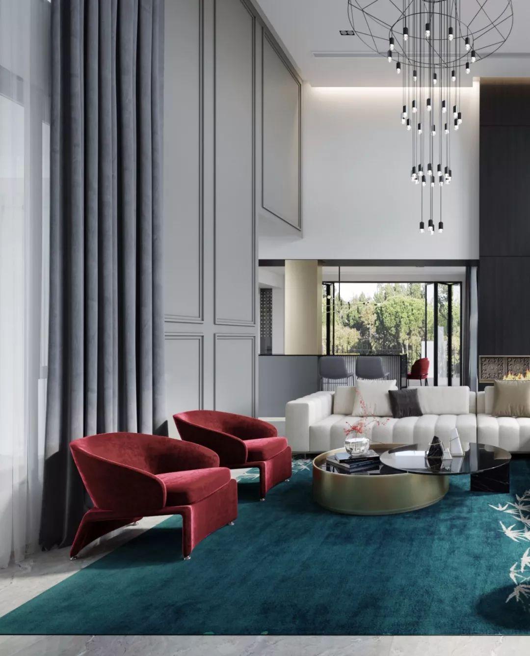 摩登 简约 时尚,ins风时尚范儿风靡全球室内设计界