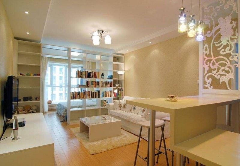 小户型客厅这么设计美观又实用