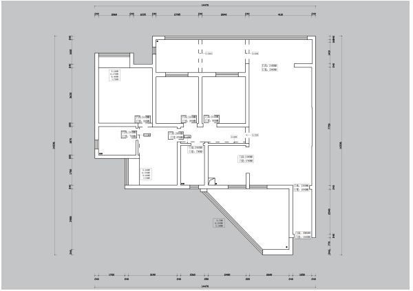 贵阳万科公园传奇27/28/29栋5号户型结构分析和方案解析