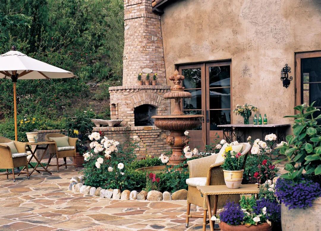 托斯卡纳风情美墅,把意大利梦幻油画田园搬进家里