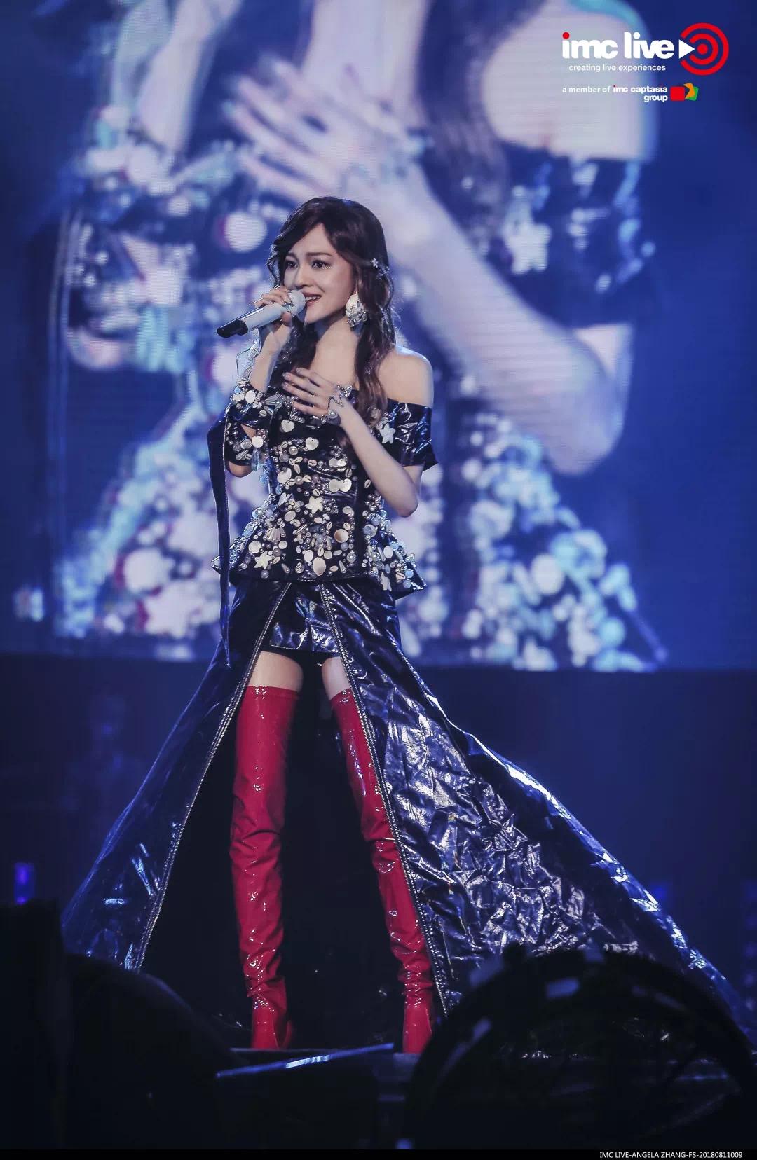 滨海橙里总冠名张韶涵巡回演唱会福州站,与你一起踏上幸福旅程