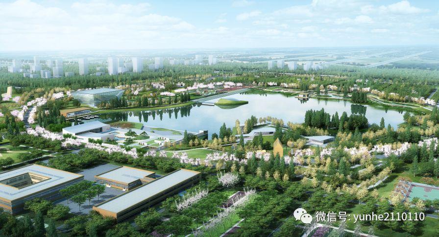 济宁又将添一座大型公园,凤凰台植物公园中心湖和堆山已初显雏形