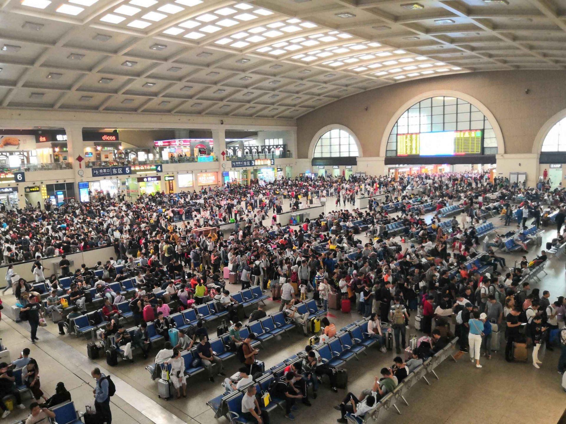 返程高峰超春运,武铁7日将发送94万人次
