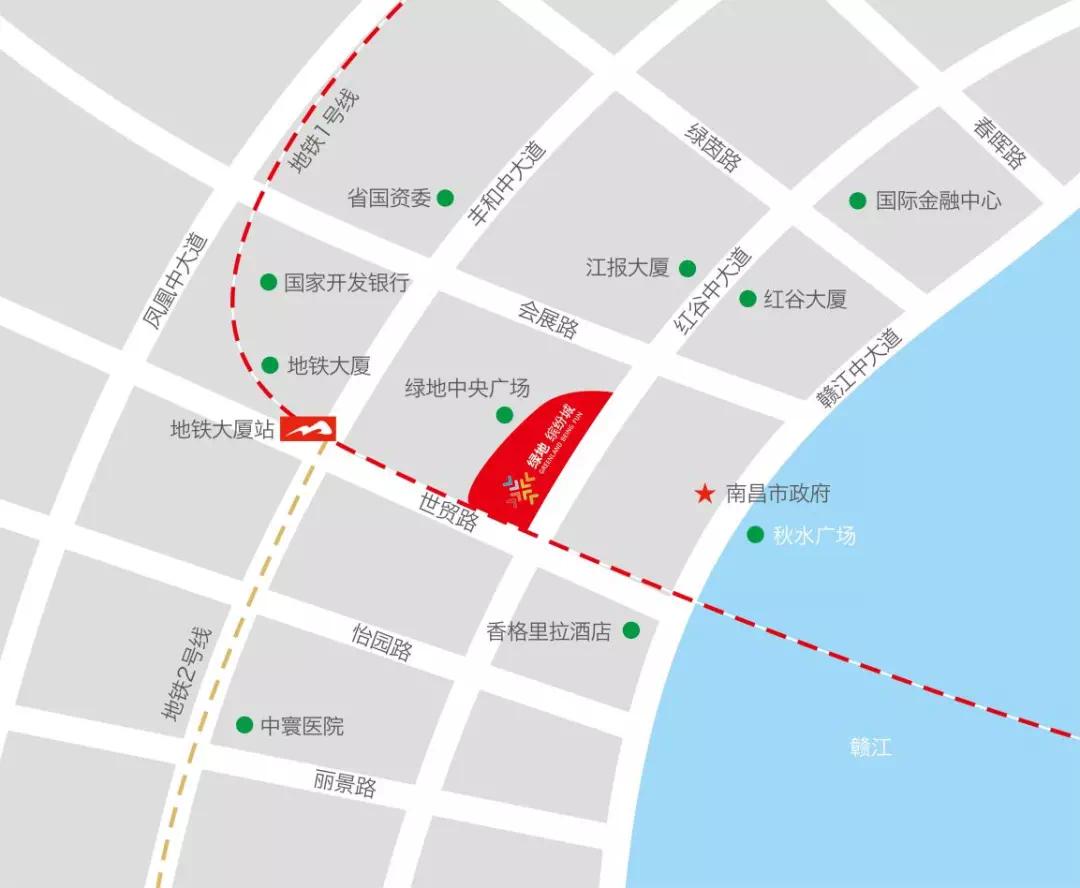 南昌绿地缤纷城开业倒计时!你期待其重生吗?