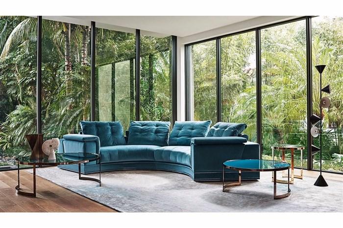 这么美的ANTIGA沙发摆在家里那叫一个高端大气