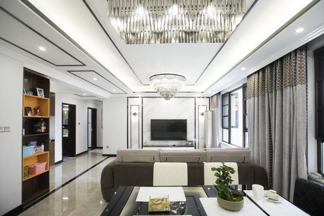 100m²后现代风大横厅,空间变大,更大提升储物功能!