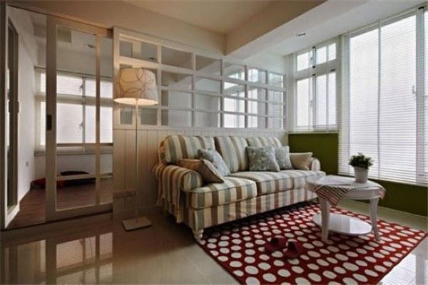 芜湖金都檀宫美式田园风格小公寓装修案例