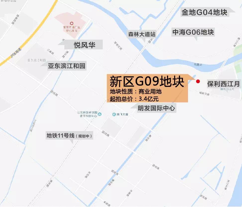 32亿底价成交!江北核心区重量级商业体、五星级酒店来了!