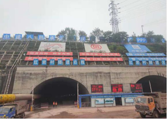 红岩村隧道开挖完成60% 建成后石桥铺到江北10分钟车程