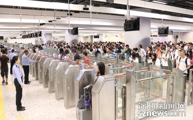 突破8萬人次!西九龍邊檢站再刷客流新記錄