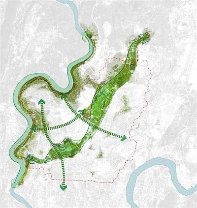 两江新区打造多功能绿道系统 7条绿道打通照母山园博园欢乐谷