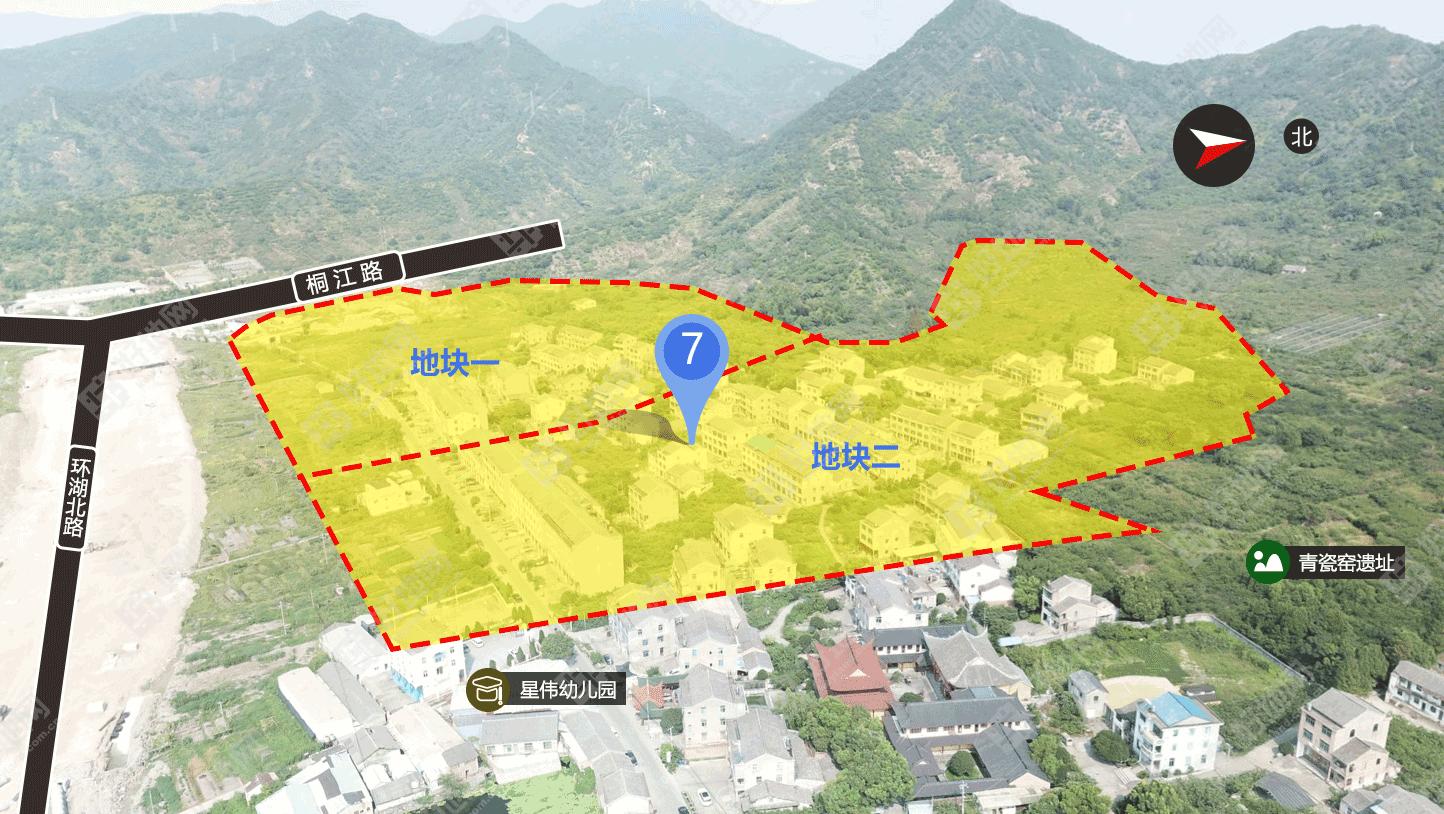 台州挂牌3宗地块,路桥飞龙湖区块2宗低密度宅地总起价44.4