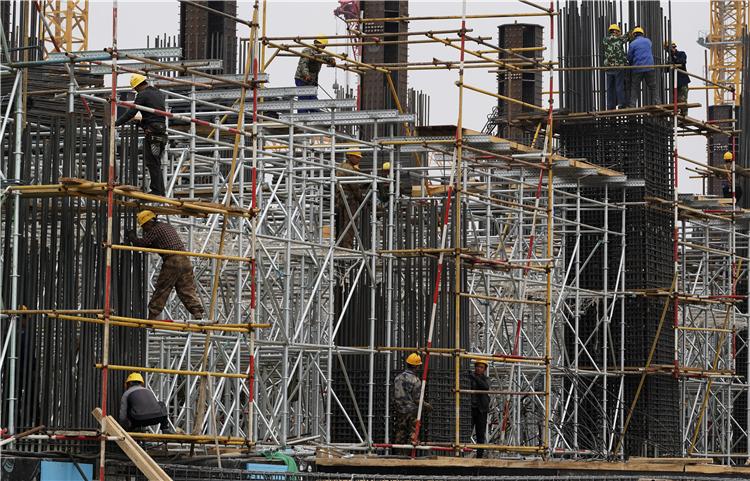雄安站地下主体结构基本完工 地上主体结构施工已经开始