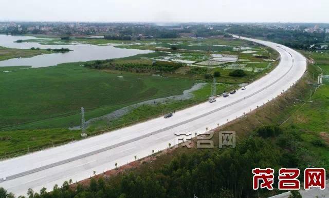茂名西部快线已完成项目总投资约99%