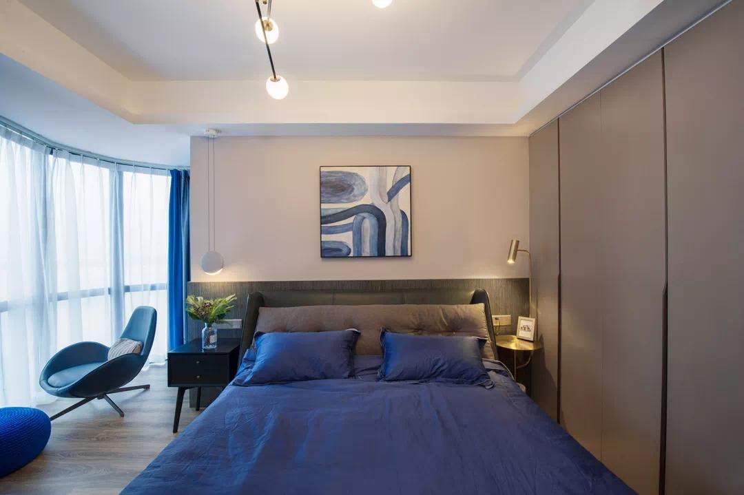 110m²舒适的现代风格,让家人舒适,让自己舒适 现代风格 装修 设计 第18张