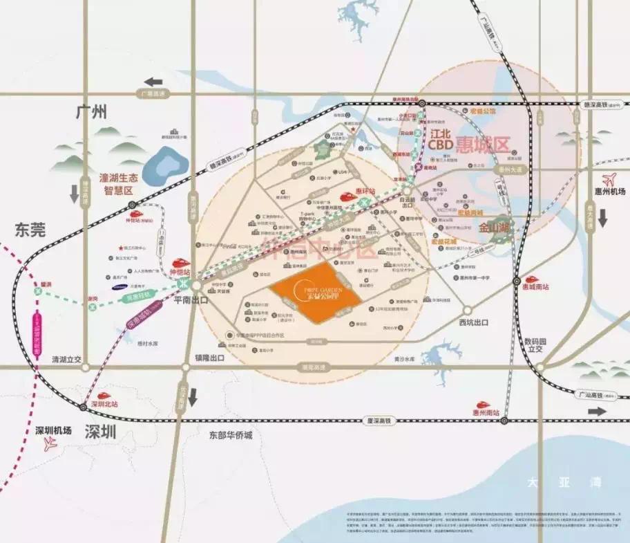 宏益公园里|惠州四环南路年底力争实现主线贯通,一路直达金山湖