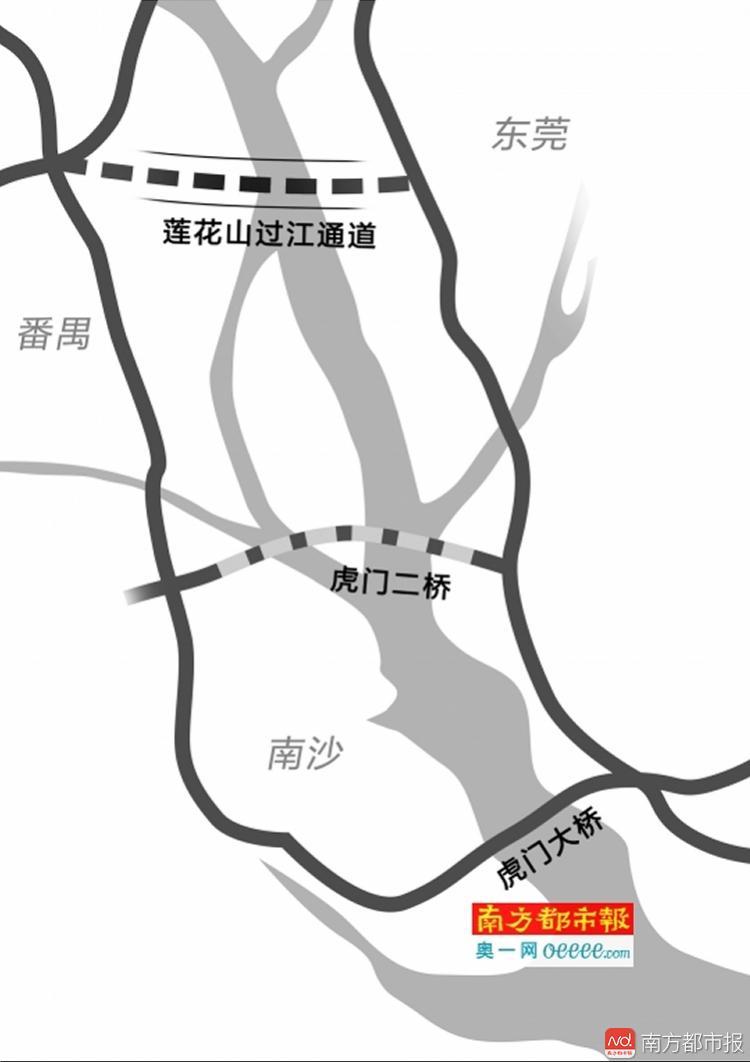 不怕在虎门大桥堵哭了!东莞将新增一条过江通道,这几个镇有福了