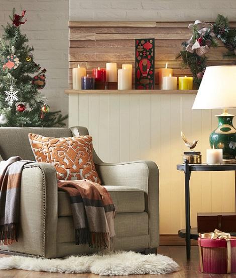 布置小角落,Harbor House秒速制造圣誕氣氛