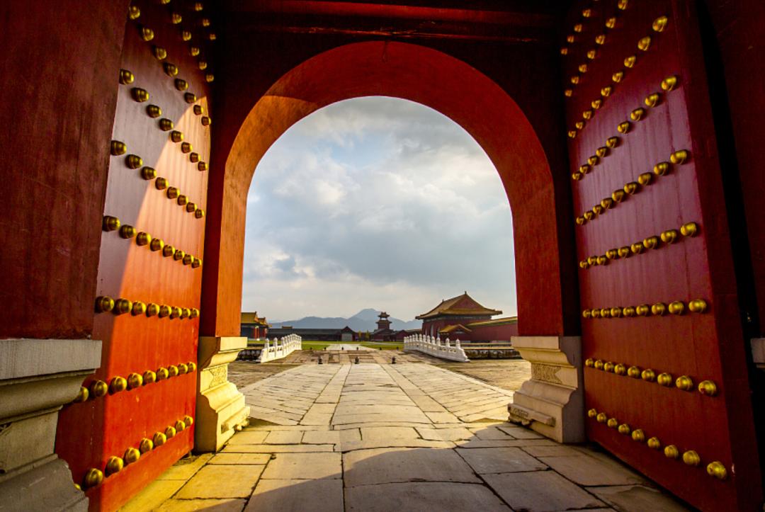 观璟臺   门,中国望族仪式感的初始