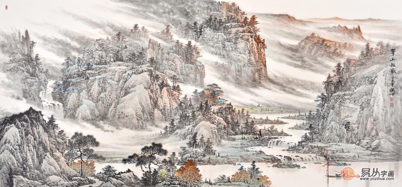 感知画家林德坤的创作历程,值得敬佩的书画家