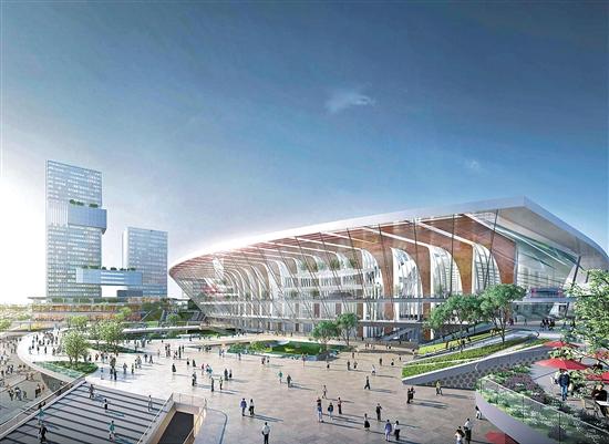 """广州白云火车站未来长""""这样,将汇聚7条地铁线"""