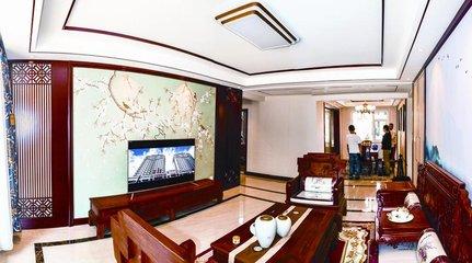 芜湖中国古典风装修案例,你觉得怎么样?