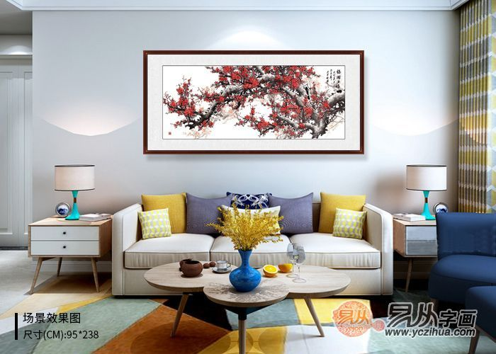 资深设计师软装经验分享:沙发墙挂画有什么讲究?