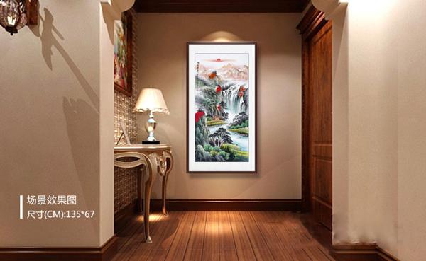 走廊这样挂画,就是生活的艺术长廊,快学起来吧!
