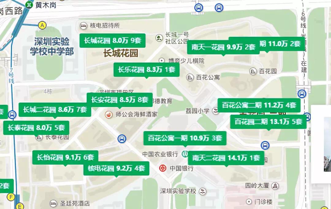 深圳实验学校学区房购房攻略!附房源推荐