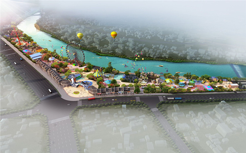 歙县丰乐河公园修建性详细规划设计方案公示